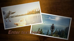 Scattered Photos Slideshow Template