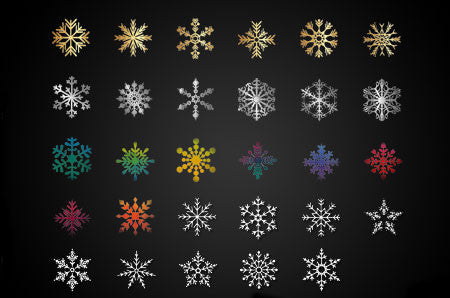 Snowflake Picture Tubes Collection