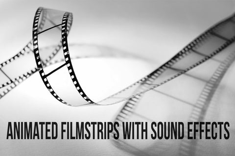 Animated Filmstrip Transition Pack with Sound FX