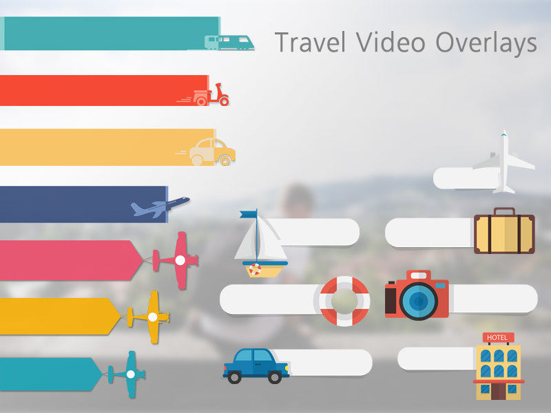 Travel Video Overlays – Discovery Center Store