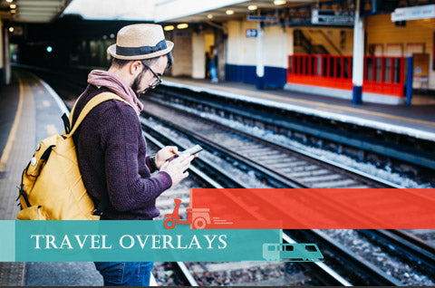 Travel Video Overlays