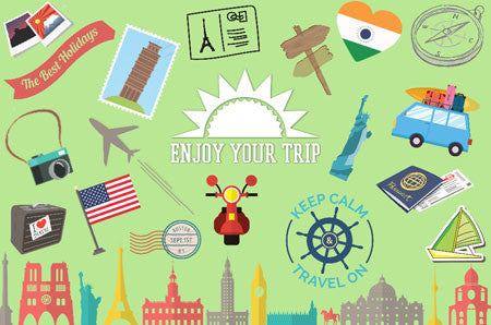 Travel Clipart (100+ pieces)