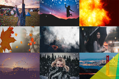 Animated Video Overlays Bundle