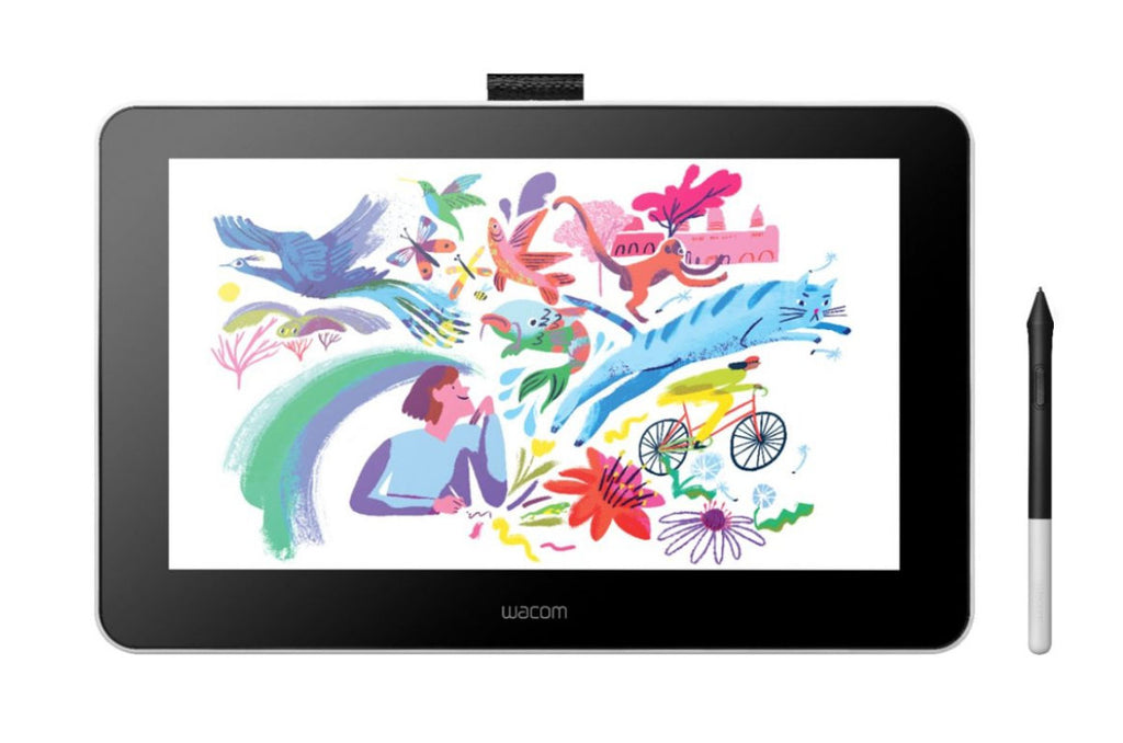 Wacom One Creative Pen Display for Painter Essentials Bundle
