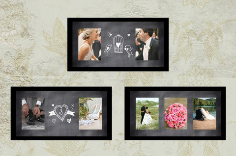 Chalkboard Wedding Collage Templates – Discovery Center Store