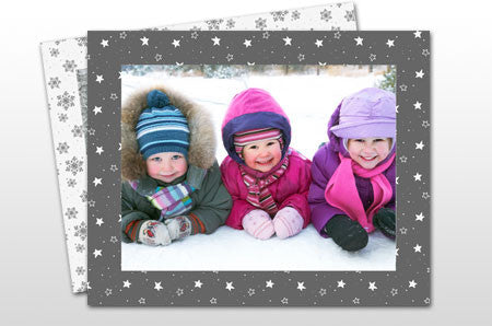 Winter Grey Photo Frames