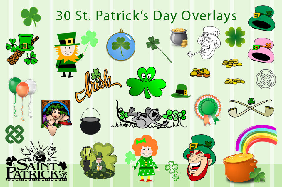 st patrick s day clipart 30 pcs discovery center store