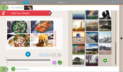 Squares and Spheres Slideshow Template