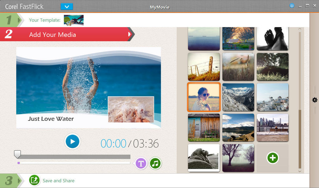 soft waves slideshow template discovery center store