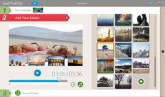 Soft Waves Slideshow Template