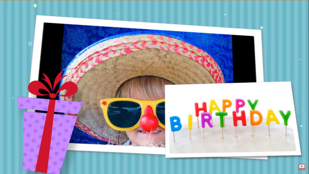 Happy Birthday Slideshow Template – Discovery Center Store