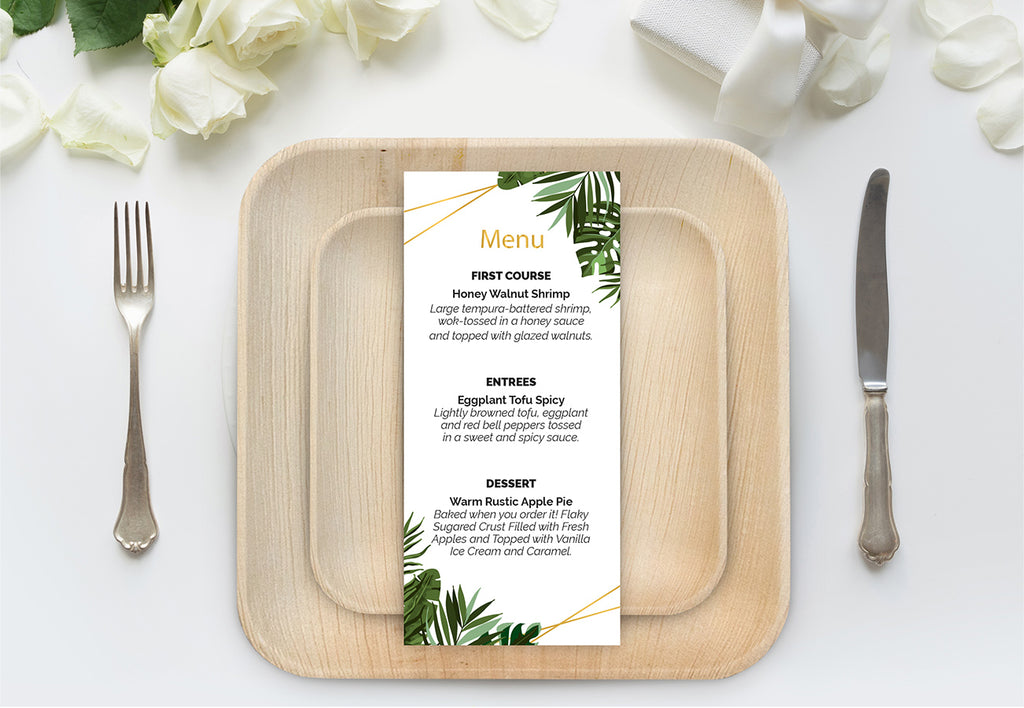 The Top 5 Most Eco Friendly Plates For Your Sustainable Wedding Eco Friendly Plates