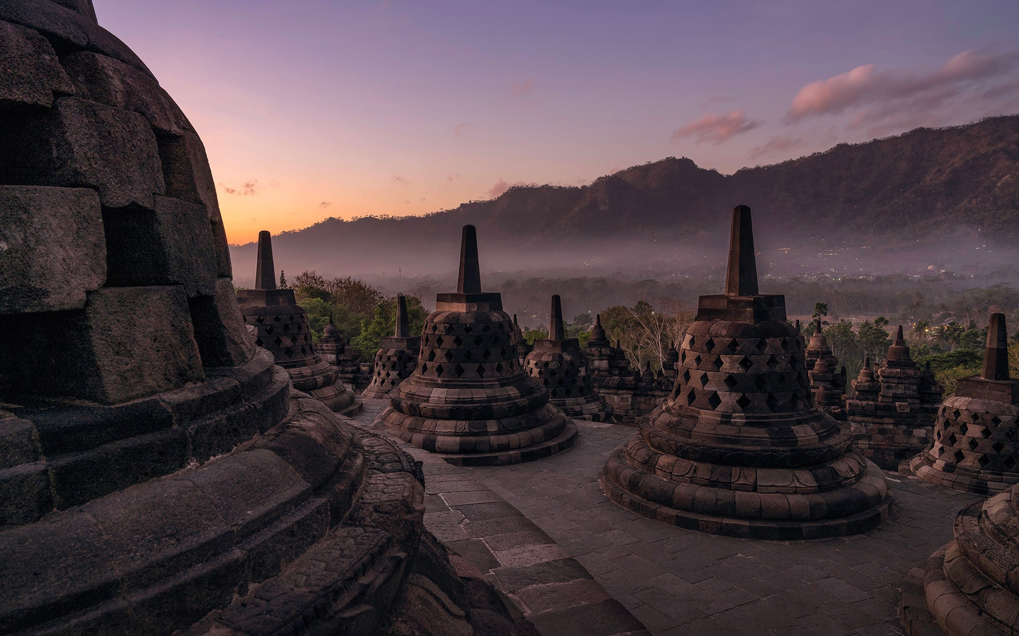 Indonesia borobudur the lost temple