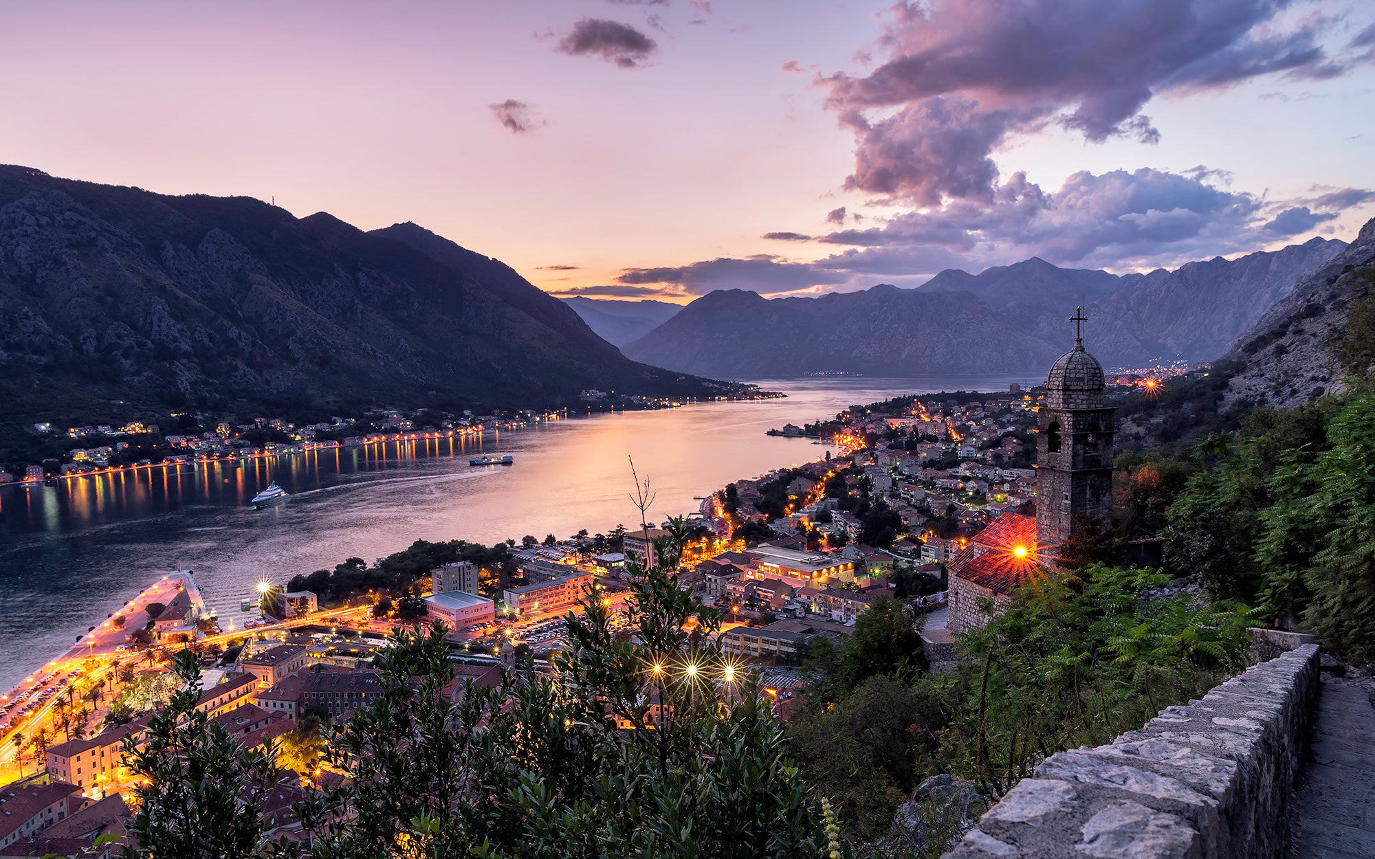 kotor blue hour