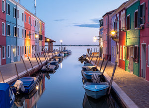 Diversity of colours in Burano.