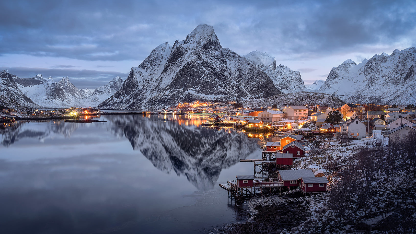Reflection of Reine.