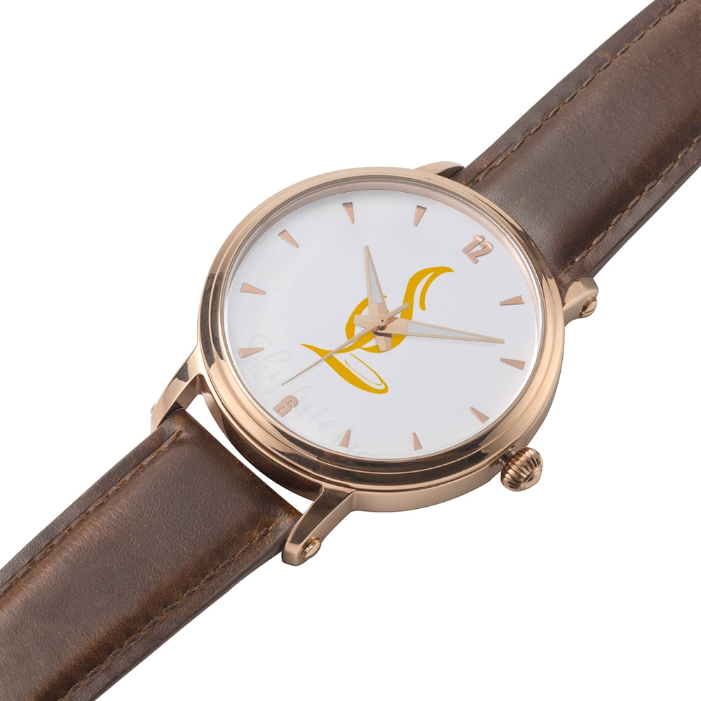 GOLD LOGO SKY LYTE WATCH