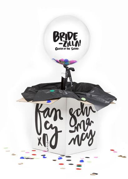 BRIDE-ZILLA! Queen of the squad.