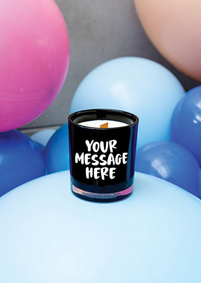 Fancy Floss Candle