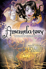 Cover art for Amandatory comic anthology by Amanda Rachels with colors by Gavin Michelli