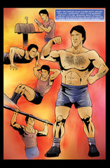 Bruno Sammartino Training Years in Wrestling Comic