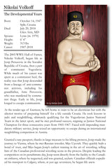 Nikolai Volkoff Wrestling Comic Book Encyclopedia Entry