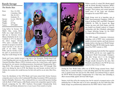 The Macho Man Randy Savage Wrestling Comic Encyclopedia Entry