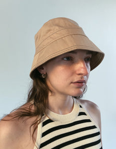 Cotton Stitch Bucket Hat (2 Colors)