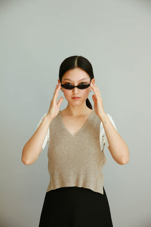 U-neck Cotton Top