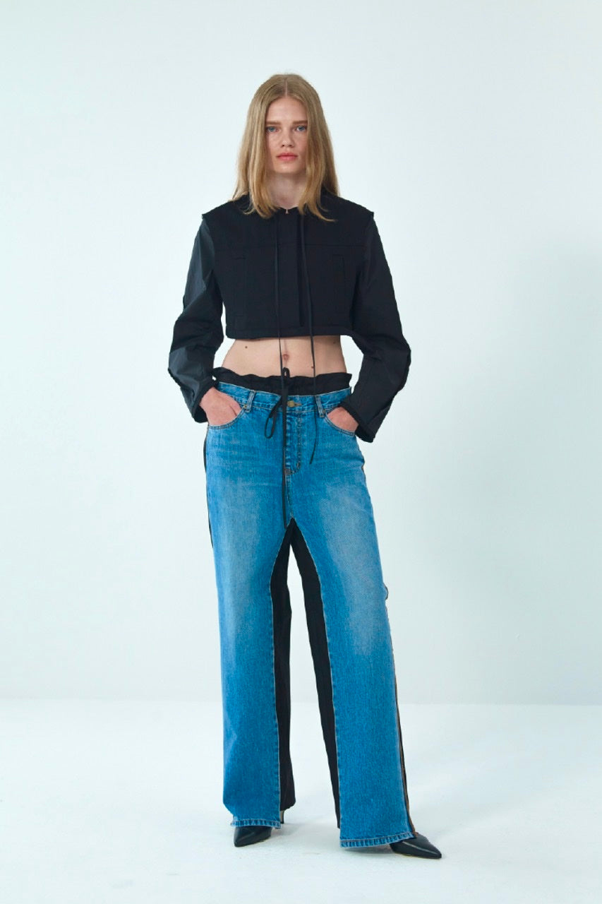 FRONT JEANS COTTON PANTS BY THEOPEN PRODUCT