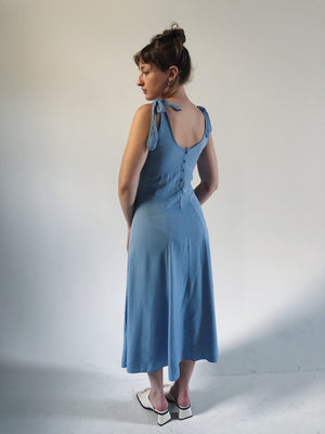 Sky blue Bustier Dress