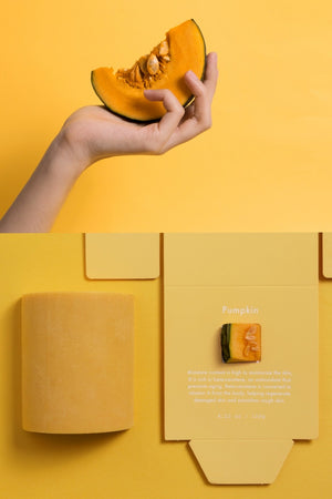 Hanahzo) Pumpkin Soap