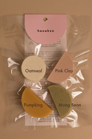 Hanahzo) 4 Sample Soap Set