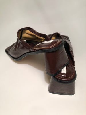 Square Toe Mules in 4 Colors