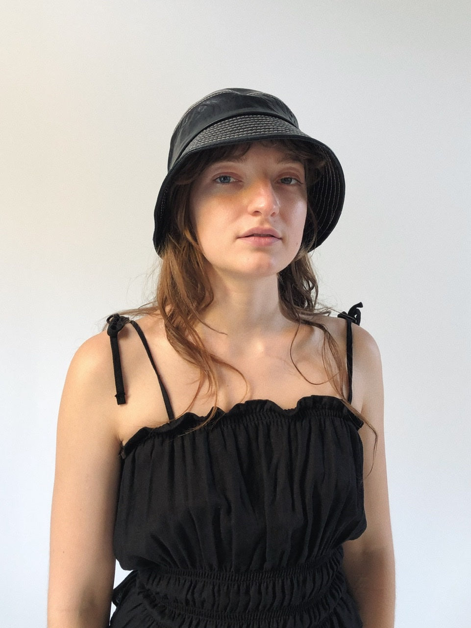 Vegan Leather Bucket Hat (2 Colors)