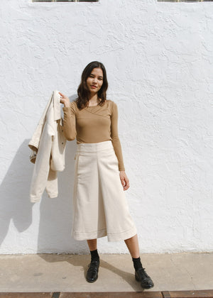 Stitch Cotton Set up Skirt