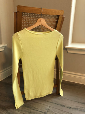 Cotton Knit Top (2 Colors)