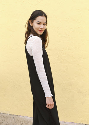 Mesh Turtleneck Top (4 Colors)