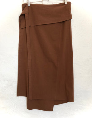 Soft Cotton Wrap Skirt (2 Colors)