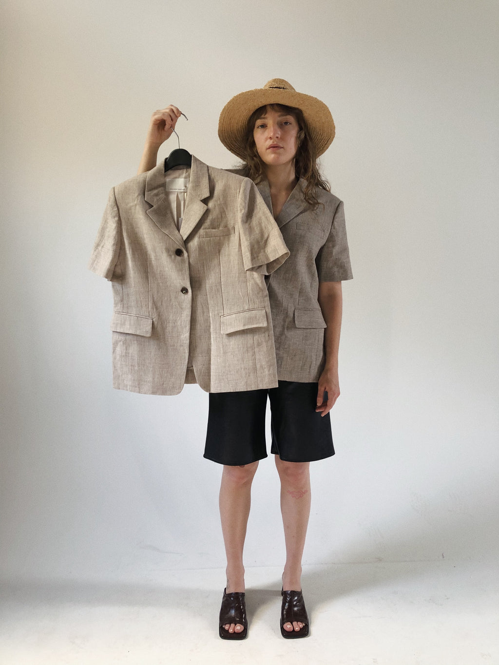Summer Linen Blazer (2 Colors)