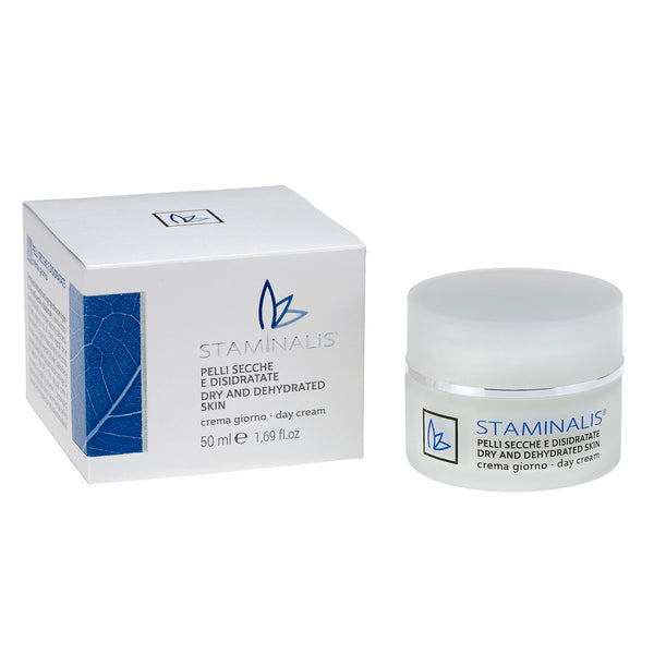 CREMA GIORNO PELLI SECCHE E DISIDRATATE – DRY AND DEHYDRATED SKIN DAY CREAM - Staminalis Skin Care