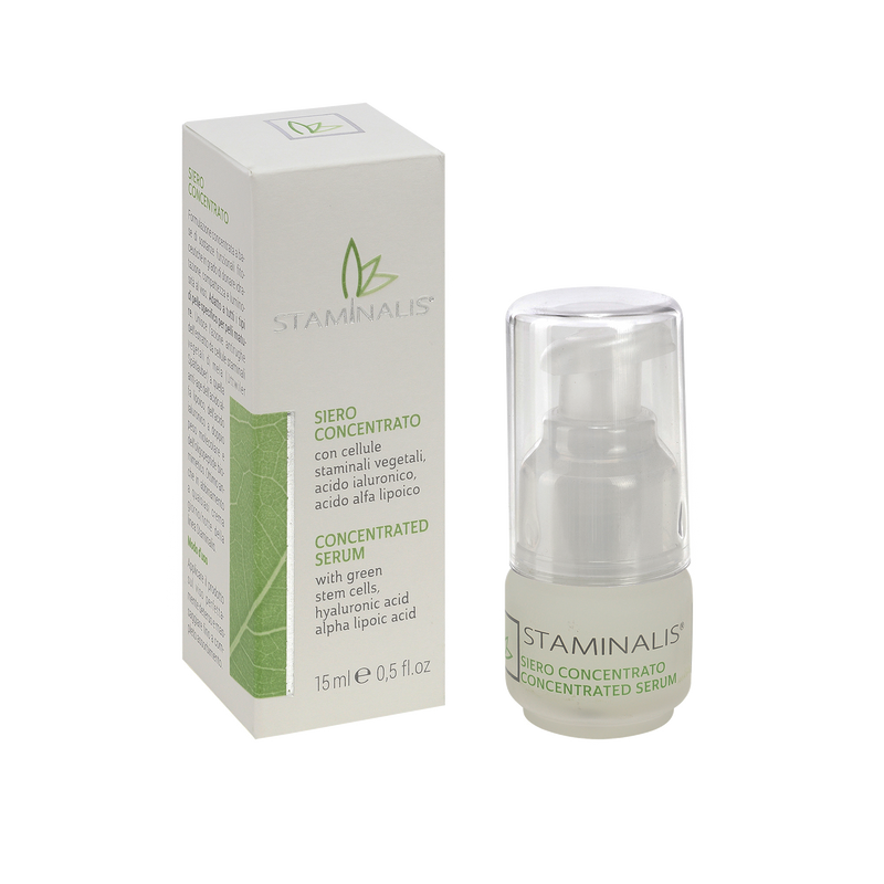SIERO CONCENTRATO – CONCENTRATED SERUM - Staminalis Skin Care