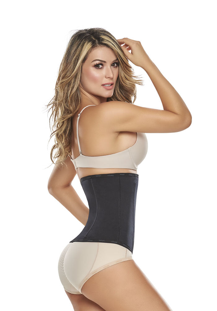 Classic 1053 Waist Cincher Ultra High compression Black