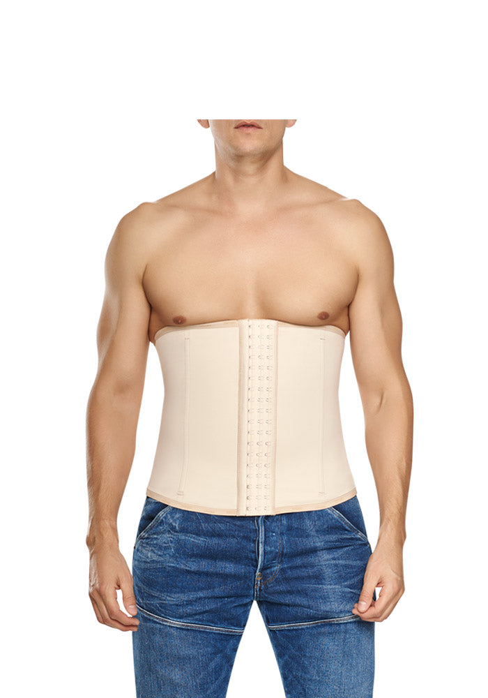 Highest compression Classic Waist Training Cincher nude