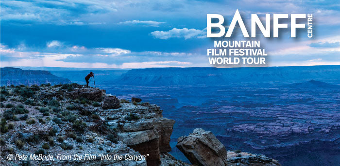Half-Moon Outfitters hosts the Banff Mountain Film Festival World Tour