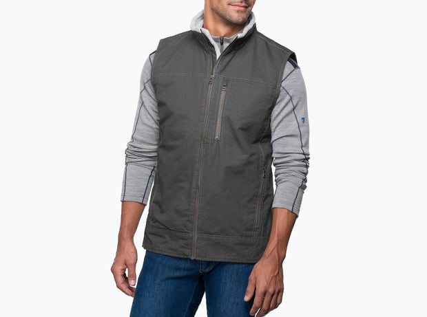 Burr Lined Vest for Men