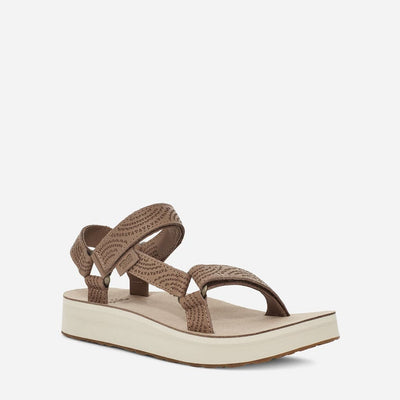 Teva Midform Universal Geometric Sandals for Women Sand Dune
