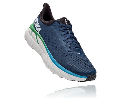 Hoka One One Clifton 7 Shoes for Men Moonlit Ocean Anthracite