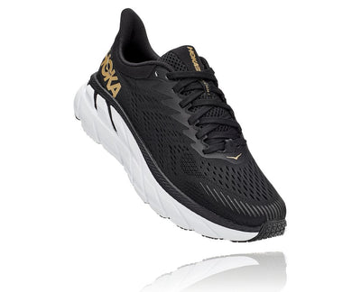 Hoka One One Clifton 7 Shoes for Women Black/Bronze