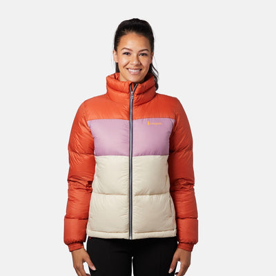 Cotopaxi Solazo Down Jacket for Women Cayenne & Plum